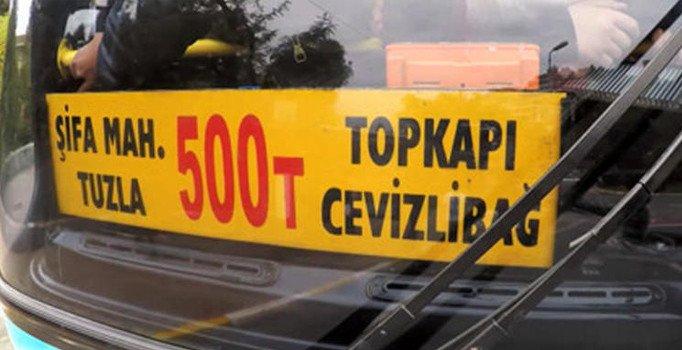 İEET - 500T Otobüs Güzergahları