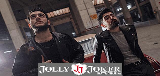 Can Kazaz, Sansar Salvo, Dolu Kadehi Ters Tut Jolly Joker Kartal'da